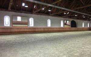 Kick walls | Indoor arenas with sloped kickboards